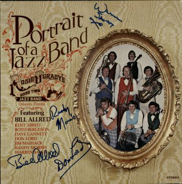 Album cover - Portrait of a Jazz Band